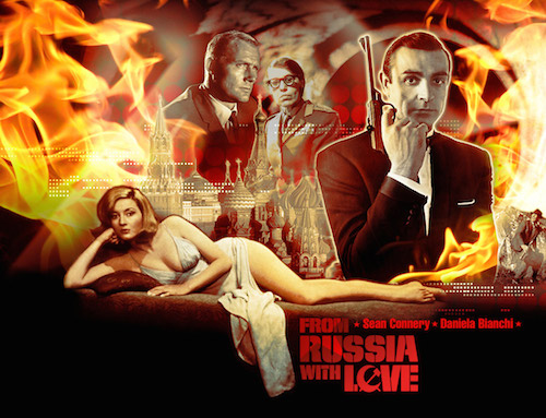 Apayrı bir kategoriye koyduğum Daniel Craig'li son filmleri bir kenara koyarsak, tüm hikayeler içinde en favori Bond filmimdir.. Daniel Craig'le birlikte Sean Connery ve yine eski Bond'lardan Timothy Dalton'un da en sevdiği Bond'dur.. John F. Kennedy de filmin romanını en çok sevdiği on kitap arasında sayar.