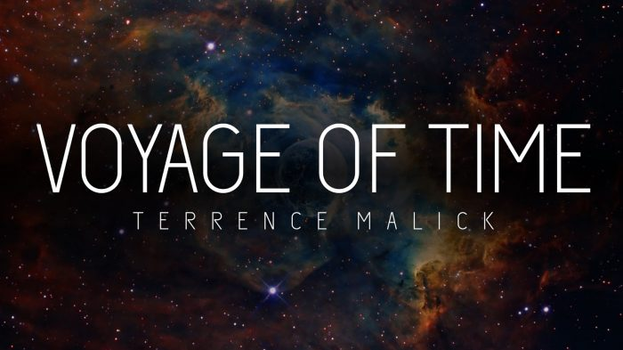 terrence malick voyage of time