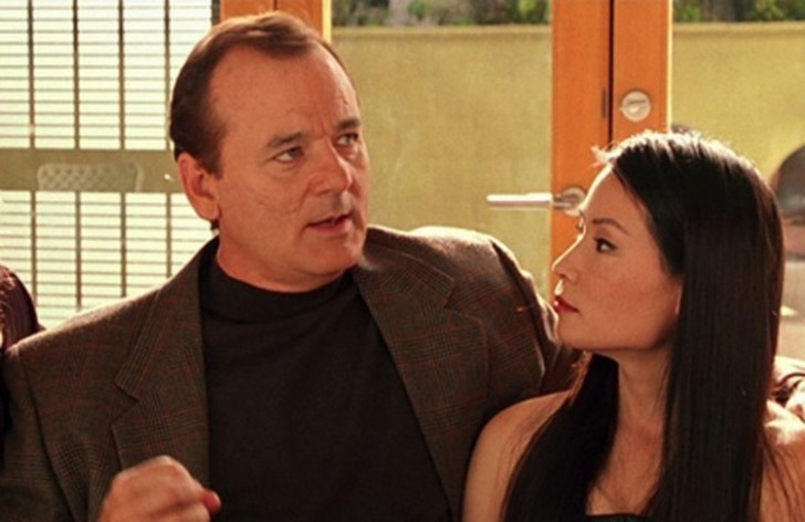 Bill Murray ve Lucy Liu