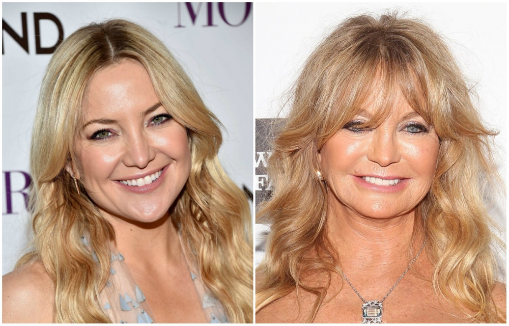 Kate Hudson ve Goldie Hawn