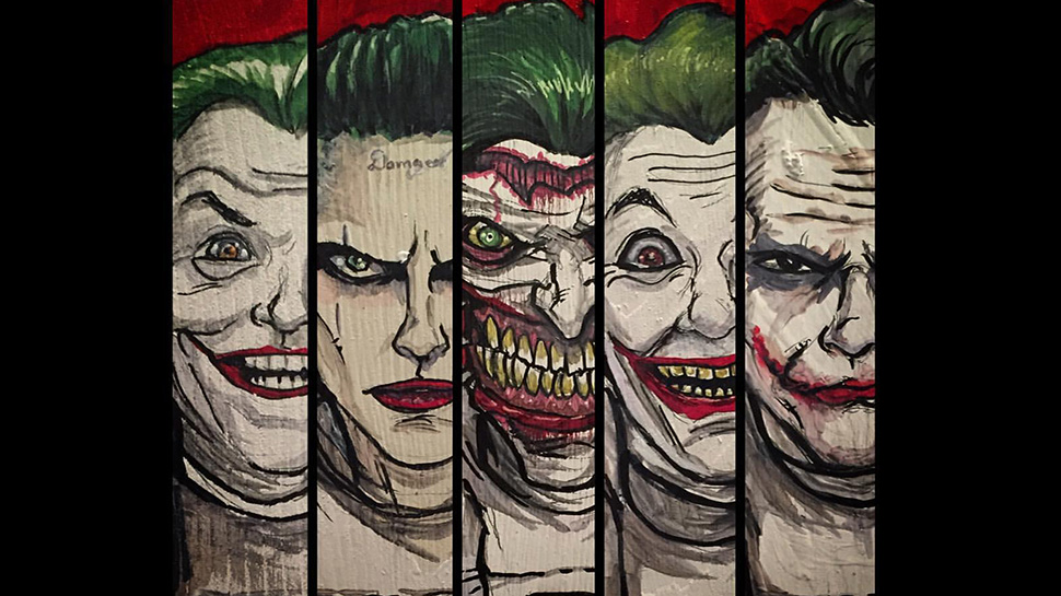the joker essay I have chosen to analyse the dark knight filing cabinets and papers showing their intrigue into the interrogation of the joker.