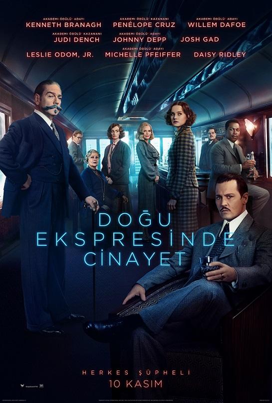Doğu Ekspresinde Cinayet Filminden Altyazılı Fragman