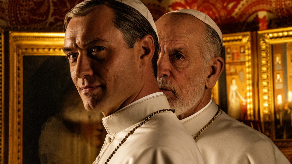 The Young Pope 2. Sezonda Marilyn Manson ve Sharon Stone