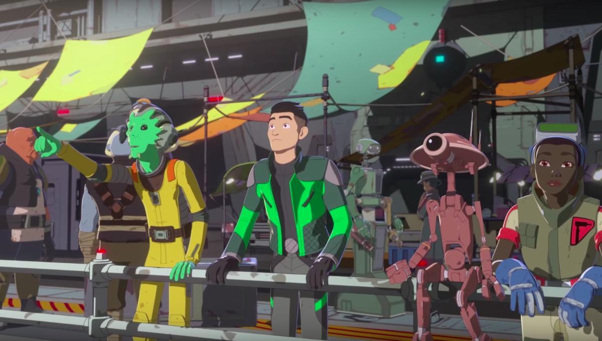 Disney Dizisi Star Wars Resistance'ın 2. Sezon Fragmanı Yayınlandı