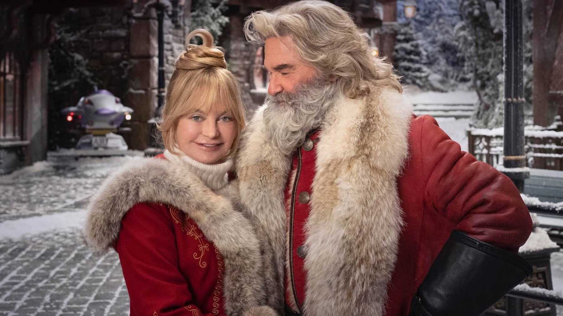 kurt russell ve goldie hawn'la the christmas chronicles 2