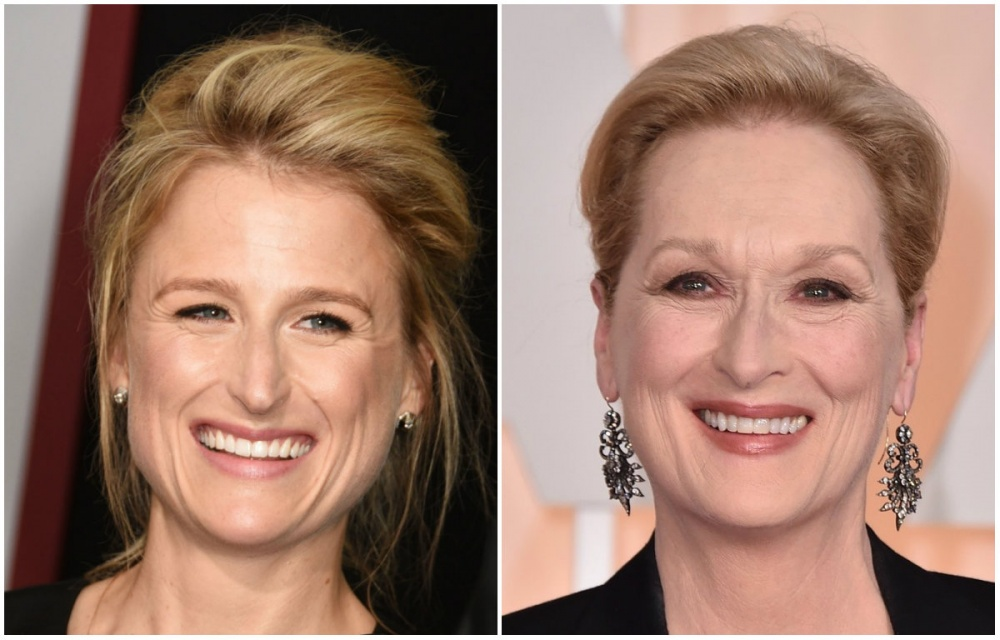 Mary Gummer ve Meryl Streep