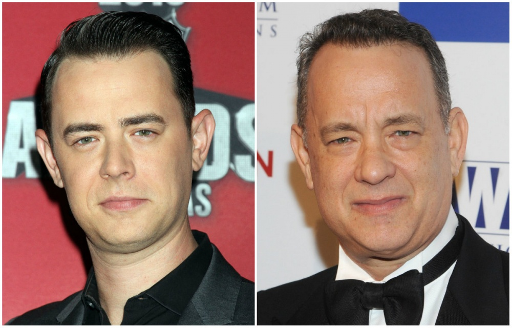 Colin Hanks ve Tom Hanks