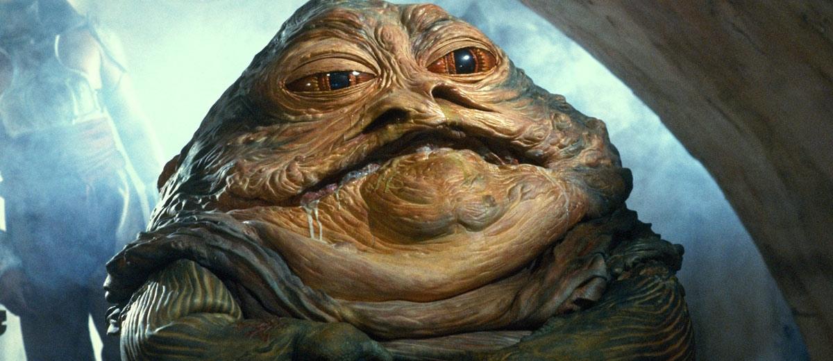 Jabba Hutt ile ilgili görsel sonucu